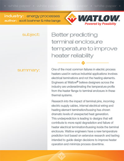 Enclosure Temperatures  White Paper Thumbnail