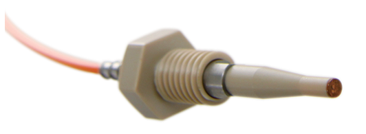 semiconductor fiber optic probe