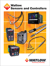 2016 Watlow Industrial Sensor and Controller catalog