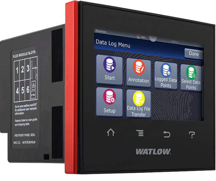 Product Data Logger Software : Watlow controllers