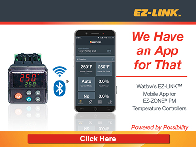 EZ-LINK mobile app for EZ-ZONE controllers