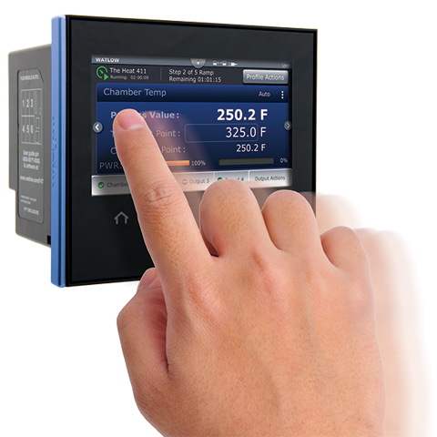 image of F4T touchscreen controller
